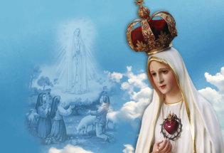 bandiera Nostra Signora del Rosario di Fatima