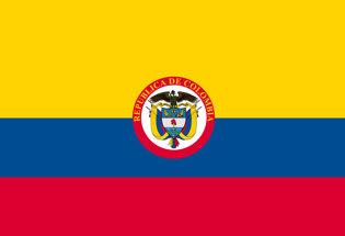 Bandiera Colombia Repubblica