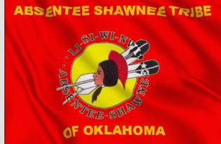 Bandiera Shawnee Assenti