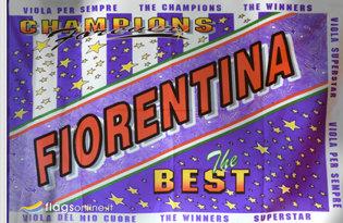 Bandiera Fiorentina Best Storica