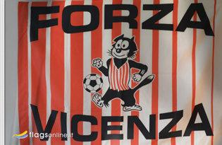 Bandiera Forza Vicenza Storica