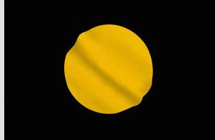 Bandiera Nera con disco