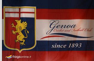 Bandiera CFC Genoa Ufficiale