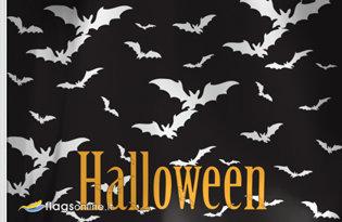 Bandiera Pipistrelli Halloween