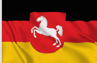 Bandiera Bassa-Sassonia