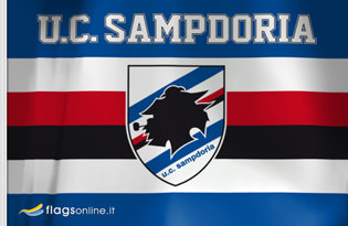 Bandiera Sampdoria Ufficiale