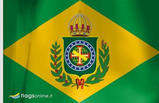 Bandiera Secondo Impero del Brasile