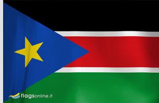 Bandiera Sudan del Sud