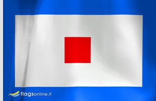 Bandiera Lettera W