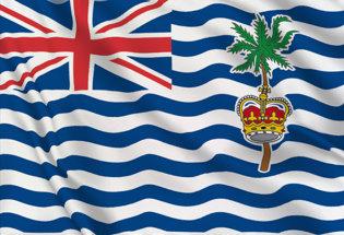 Bandiera Oceano Indiano Britannico