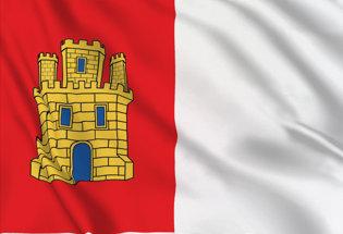 Bandiera Castiglia Mancia