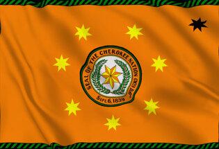 Bandiera Cherokee