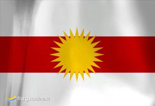 Bandiera Yazidistan