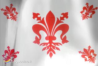 Bandiera Firenze Giglio