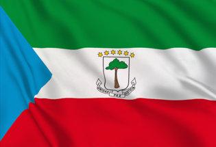 Bandiera Guinea.Equatoriale