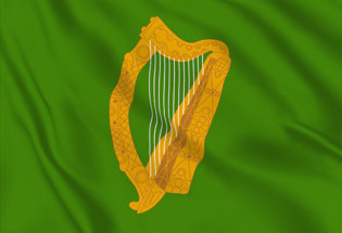 Bandiera Irlanda Marina Militare Jack