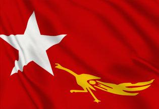 Bandiera Lega Nazionale Democrazia