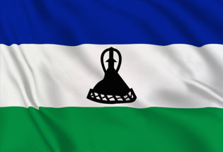 Bandiera Lesoto 2006