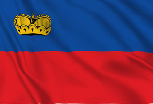 Bandiera Liechtenstein