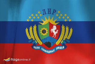Bandiera Repubblica Popolare di Lugansk