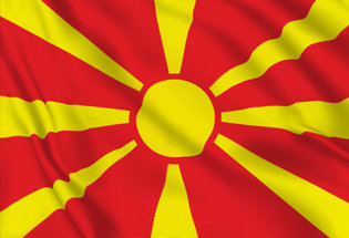 Bandiera Macedonia