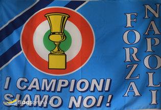 Bandiera Napoli Coppa Italia