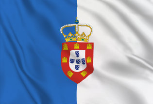 Bandiera Regno del Portogallo 1830