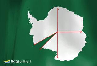 Bandiera Principato Occidentale di Antarcticland