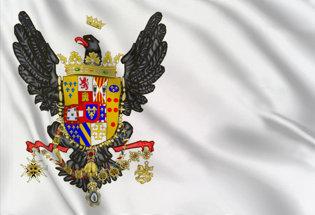 Bandiera Regno di Sicilia Stato 1734-1816