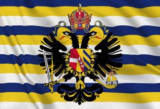 Bandiera Sacro Romano Impero 1737