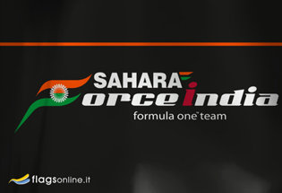 Bandiera Sahara Force India