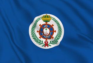 Bandiera Arabia Saudita marina Militare Jack