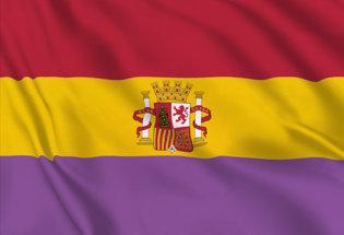 Bandiera Seconda Repubblica Spagnola