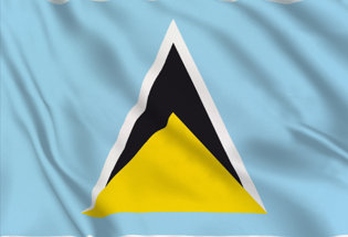 Bandiera Santa Lucia
