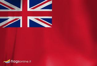 Bandiera Regno Unito Marina Mercantile