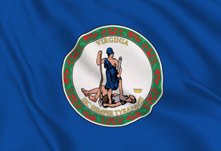 Bandiera Virginia
