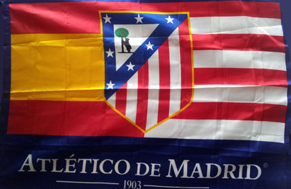 Bandiera Club Atletico de Madrid