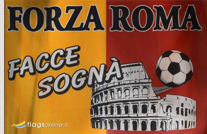 Bandiera Forza Roma Storica