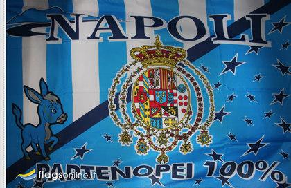 Bandiera Napoli Borbonica Storica