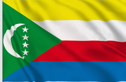 Comoros table flag