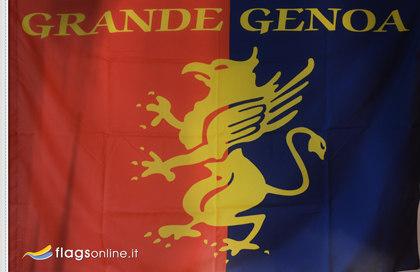 Bandiera Genoa Calcio Storica