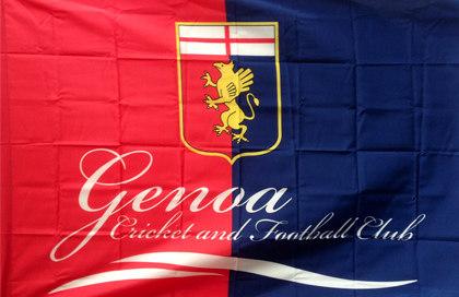 Bandiera Genoa Ufficiale