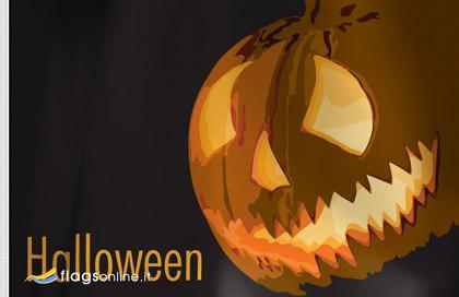 Bandiera Lanterna di Halloween