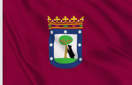 Bandiera Madrid Citta