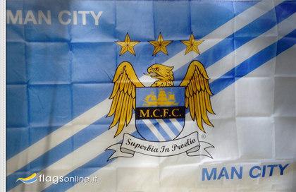 Bandiera Manchester City FC