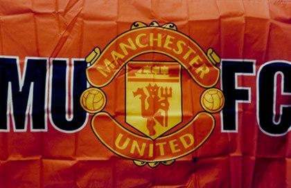 Bandiera Manchester United FC