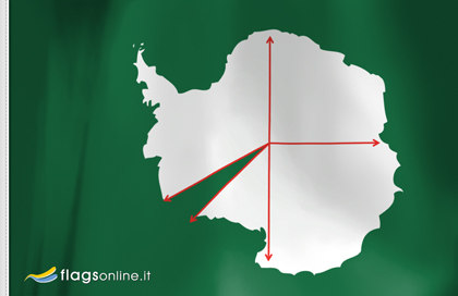 Bandiera Principato Occidentale di Antarcticland