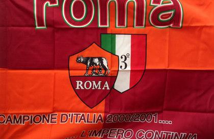 Bandiera AS Roma Campione Storica
