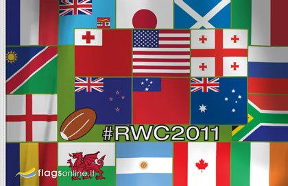 Bandiera Mondo Rugby