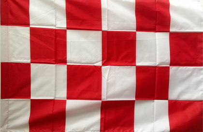 Bandiera Scacchi biancorossi